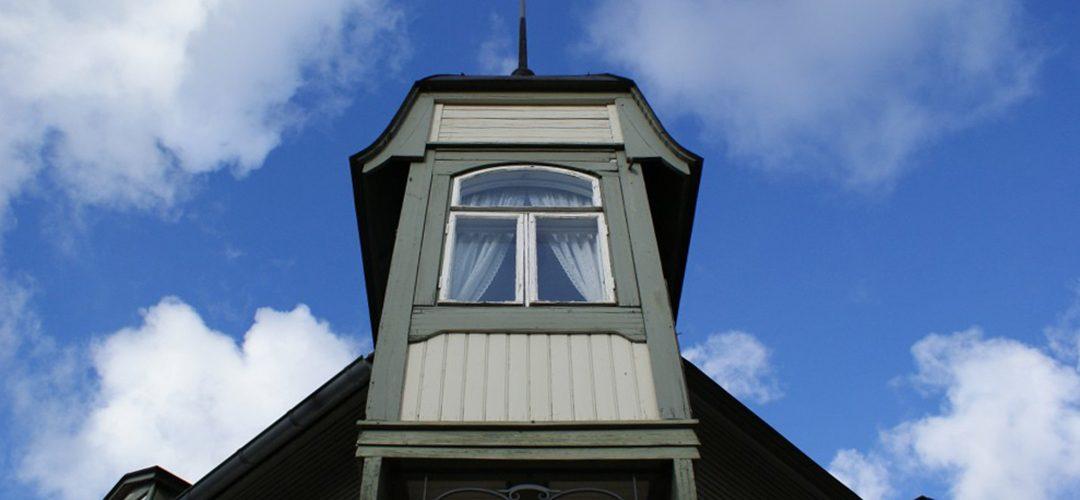 Fińskie, drewniane miasteczko: Rauma