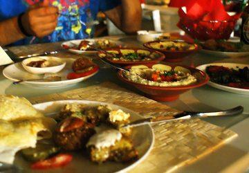 Snagov i libańska kolacja