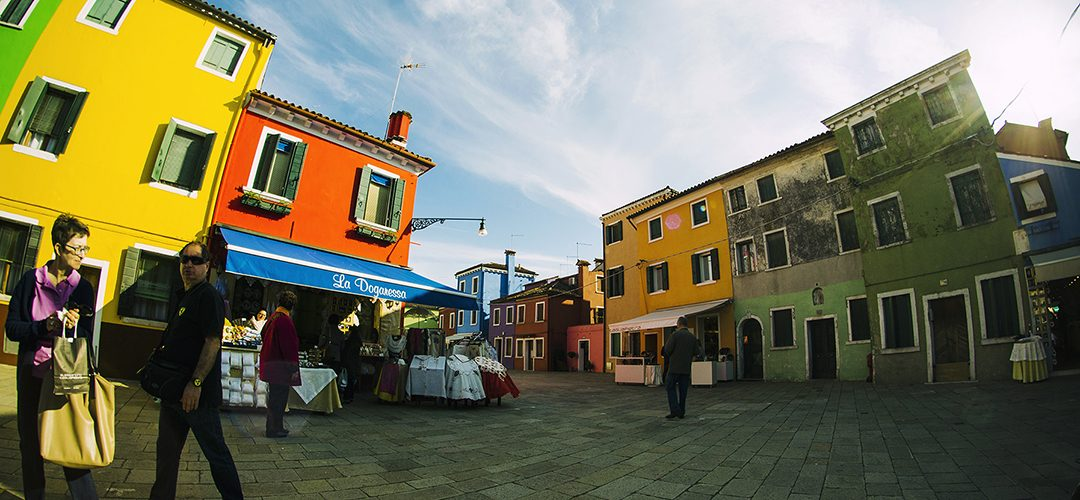 Najbardziej kolorowa wyspa świata: Burano