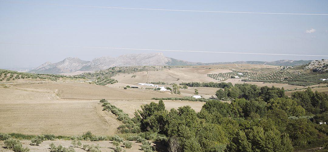 Północ-południe Andaluzji