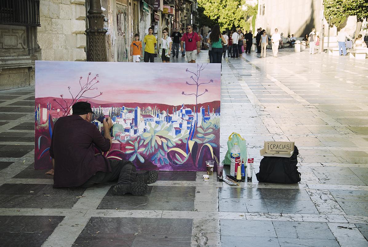 Arabska dusza Granady