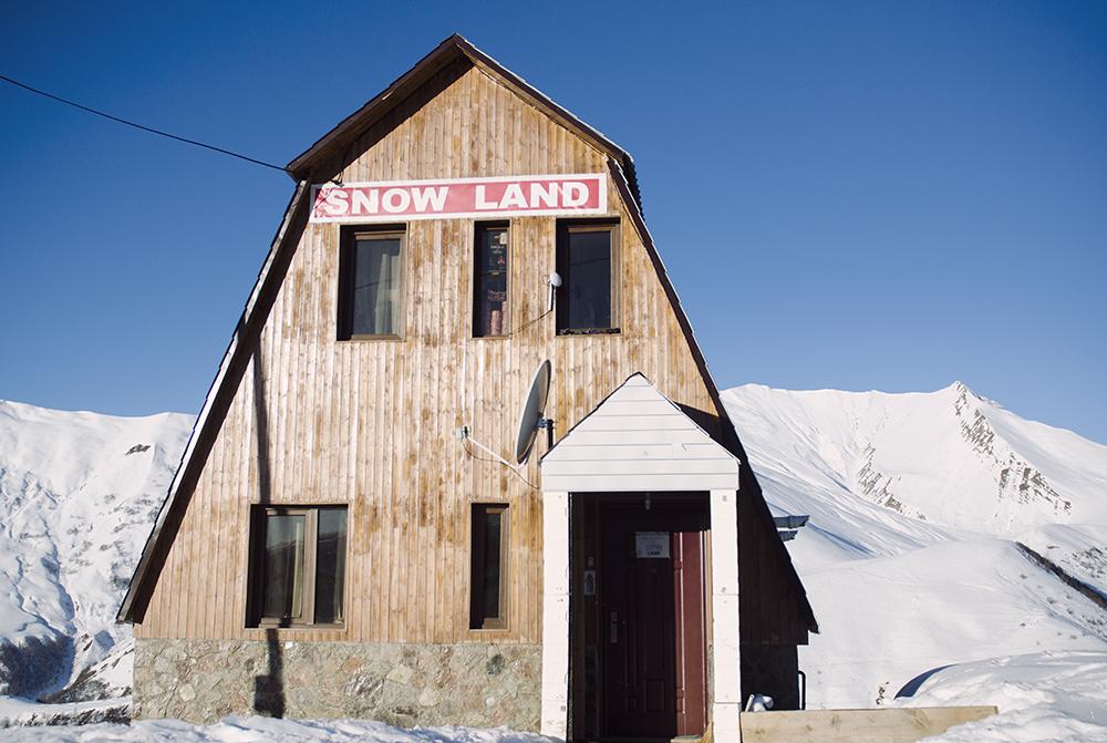 hostel Snow Land, Gudauri, fot. K. Anglart