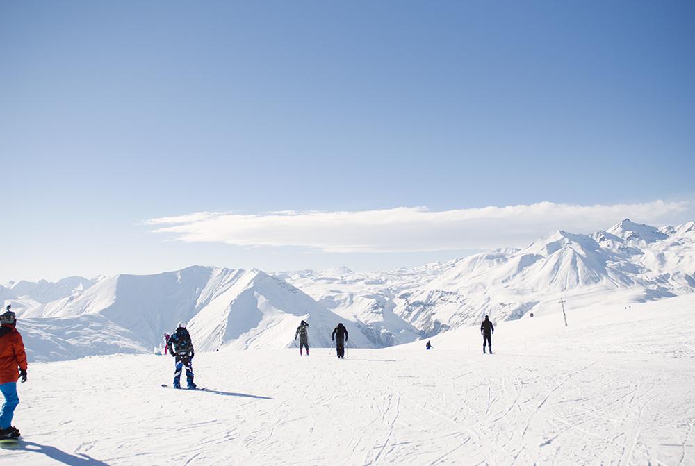 narty w gruzji