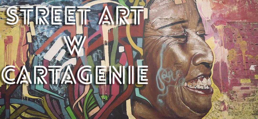 Street art w Cartagenie