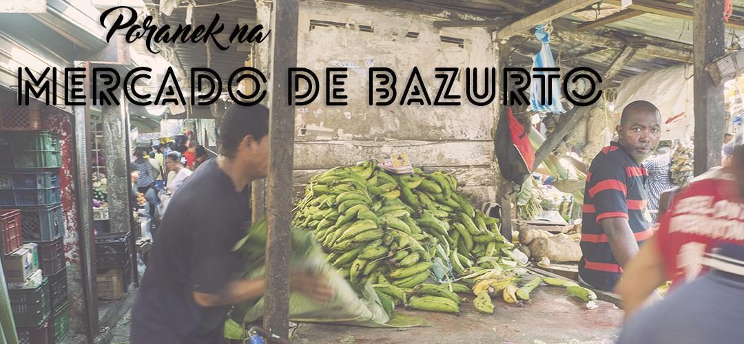 Poranek na Mercado de Bazurto w Cartagenie