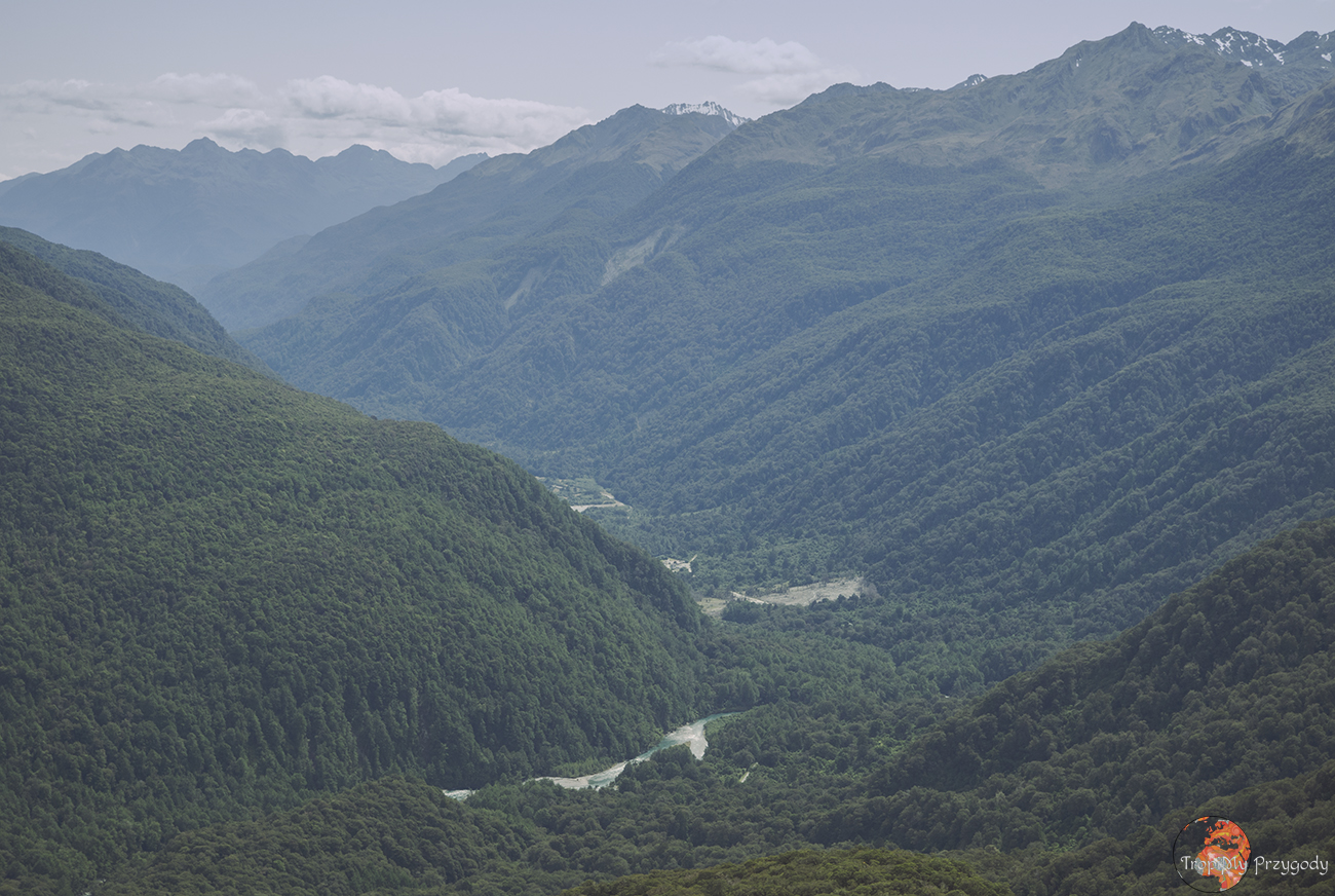 trekking w Nowej Zelandii